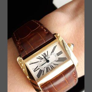 Cartier - Divan - 25mm - Quartz - W6300356 (2601)