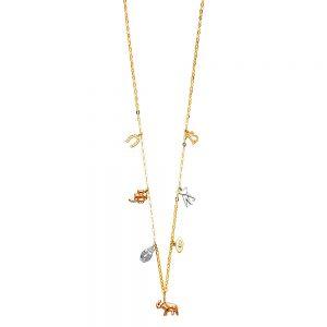 Collar Lucky Charms - 14K
