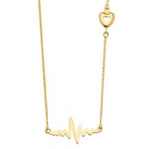 Collar Heartbeat - 14K